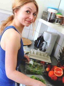 Magda w pracy