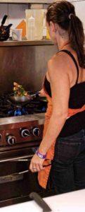 Wiola w kuchni